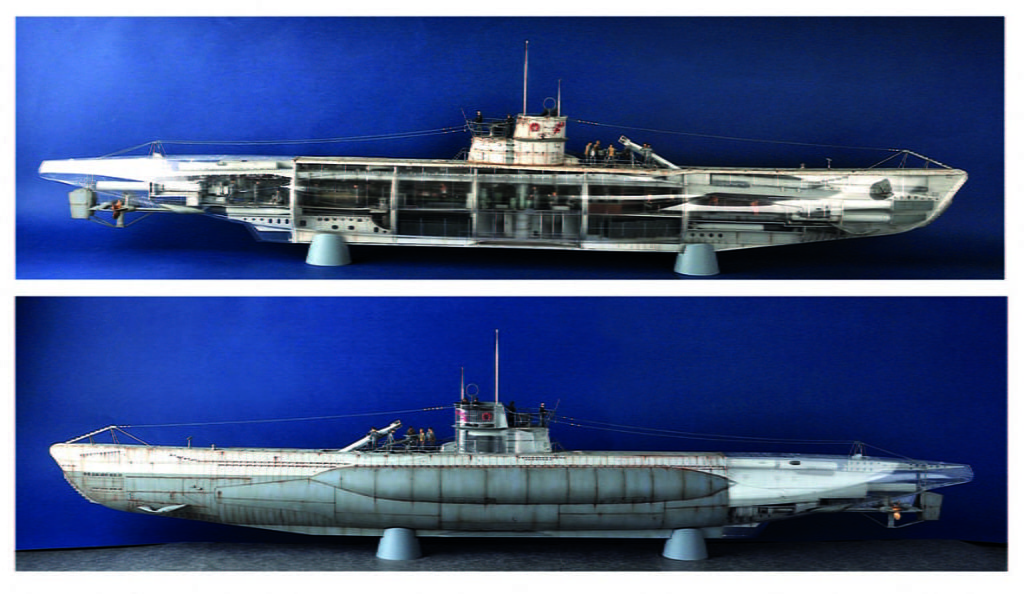 Details about Trumpeter DKM U-Boat Type VIIC U-552 WWII Submarine - Large  1:48 Scale Model Kit