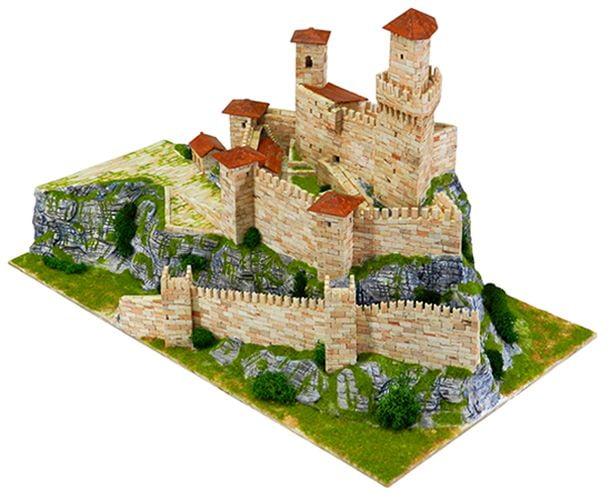 aedes ars rocca guaita prima torre of san marino architectural model