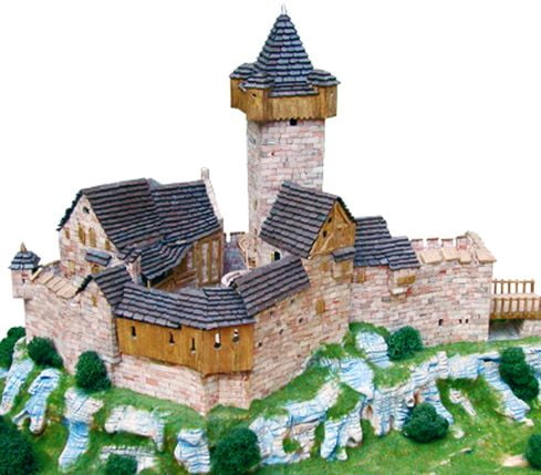 Aedes Ars Burg Falkenstein Building Construction Kits