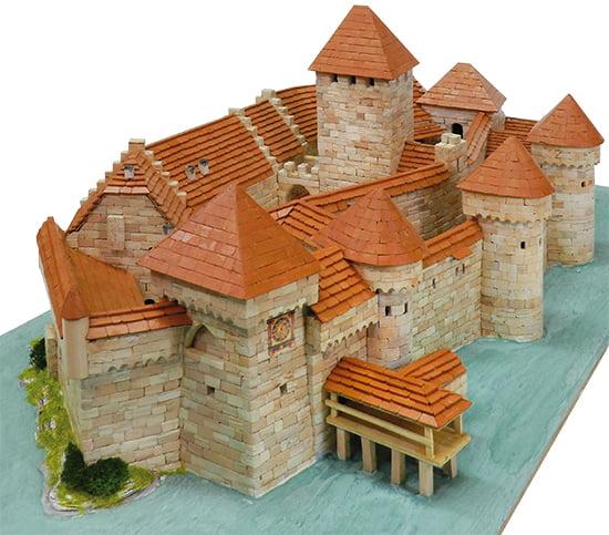 Aedes Ars Chillon Castle Building Construction Kits