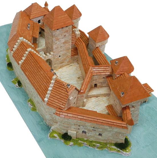 aedes ars chillon castle building construction kits aed1012 hobbies