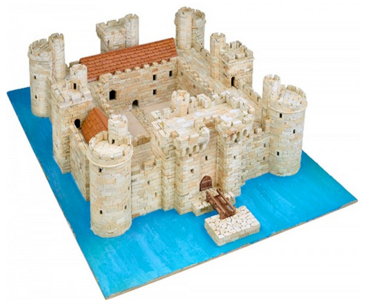 Aedes ars bodiam castle model kit for Build your own castle home