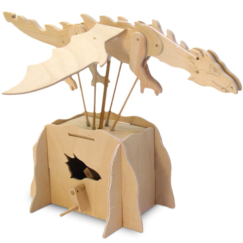 Pathfinders For Sale >> Pathfinders Make Your Own Flying Dragon Wooden Automata Kit 26318 | Hobbies