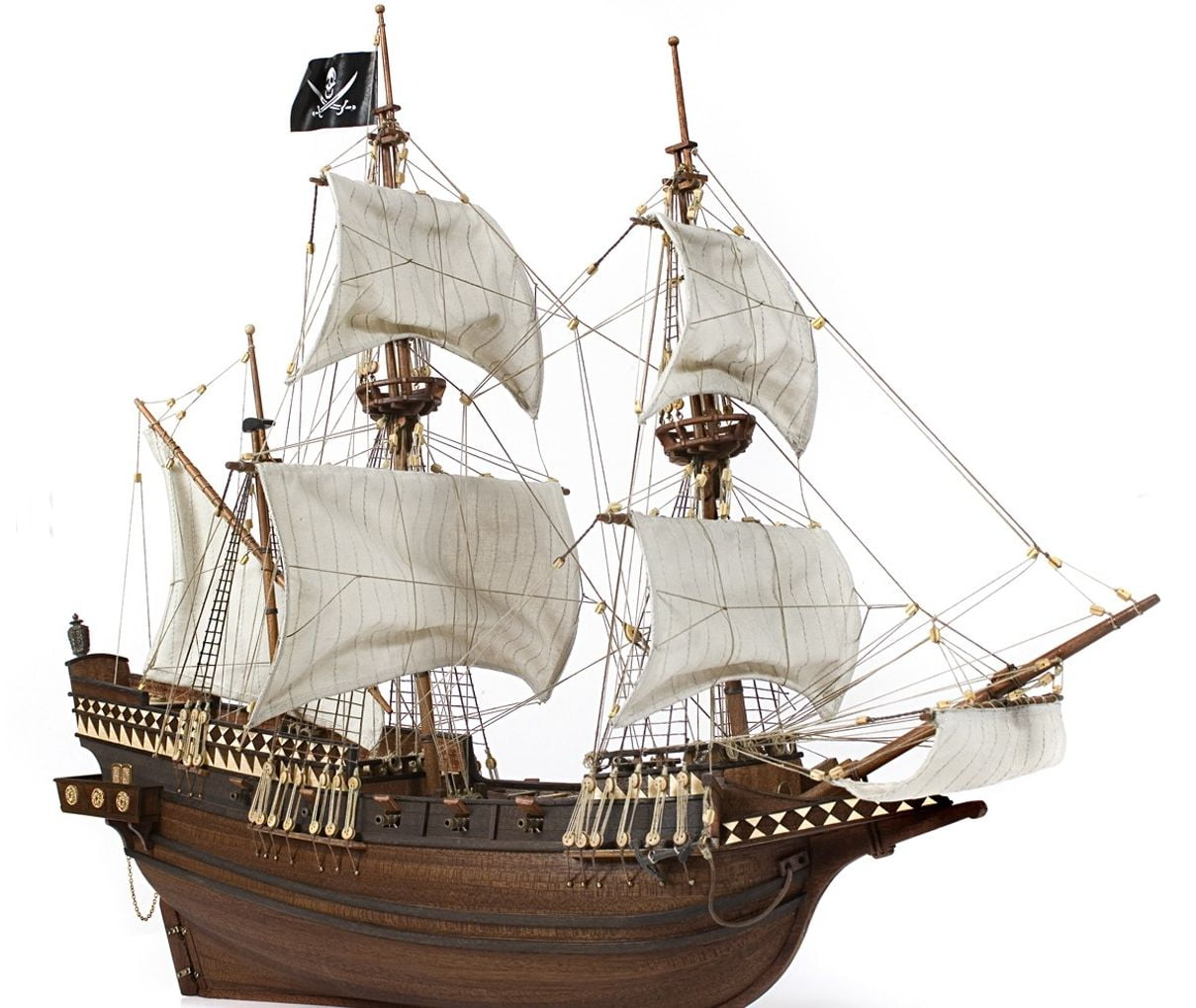 Occre Buccaneer Wooden Pirate Galleon 1:100 Scale Model Ship Kit - available from Hobbies, the ...