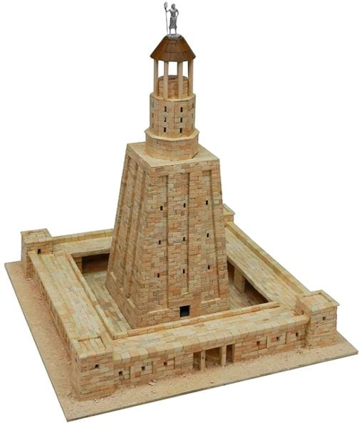 Aedes Ars Alexandria Lighthouse Building Construction Kits