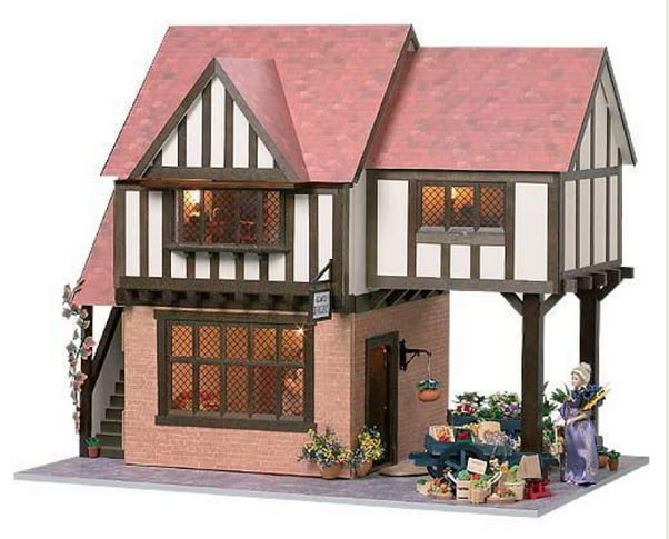 Stratford Bakery Ready To Assemble 12th Scale Dolls House