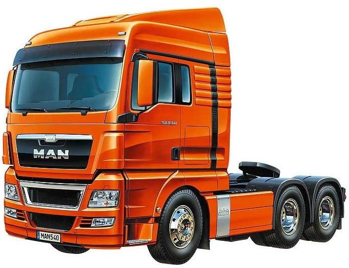 Tamiya American Grand Hauler Radio Controlled Truck Kit ...