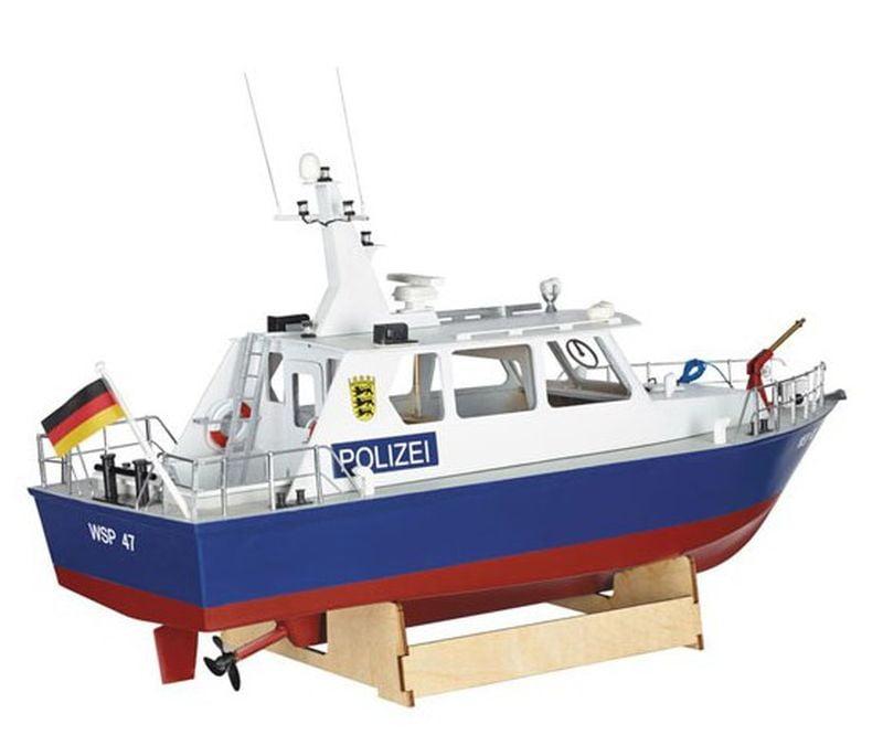 Krick WSP47 Police Motor Launch 1:20 Scale Model Boat Kit