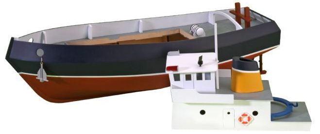 New Easy-Build RC Model Boat Kits from Artesania Latina ...