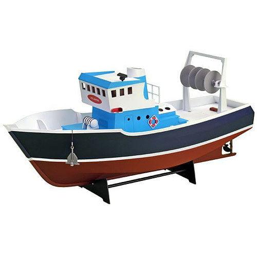 Artesania latina atlantis fishing trawler boat kit for Build fishing boat