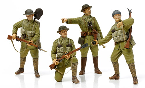 Tamiya Ww1 British Infantry Set 32409 Hobbies