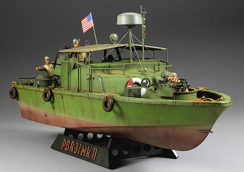 Tamiya U.S Navy PBR 31 Mk.II Patrol Pibber Plastic Model Boat Kit| Hobbies