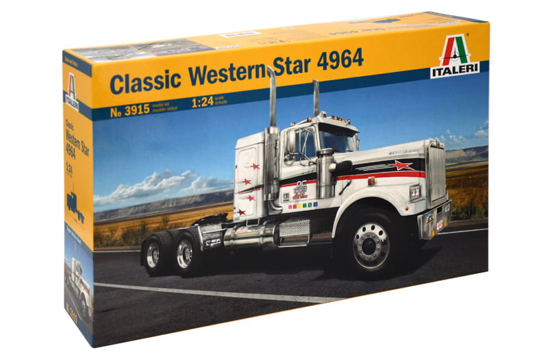 Italeri classic western star 4964 1 24 scale plastic model for Star building garage packages