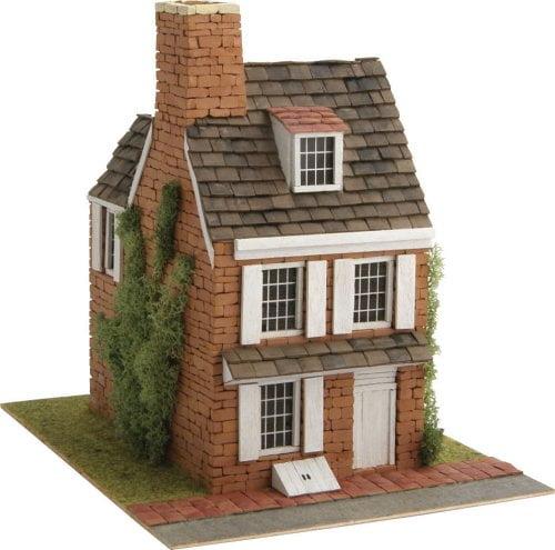 Domus country 10 house brick model kit for Brick kit homes