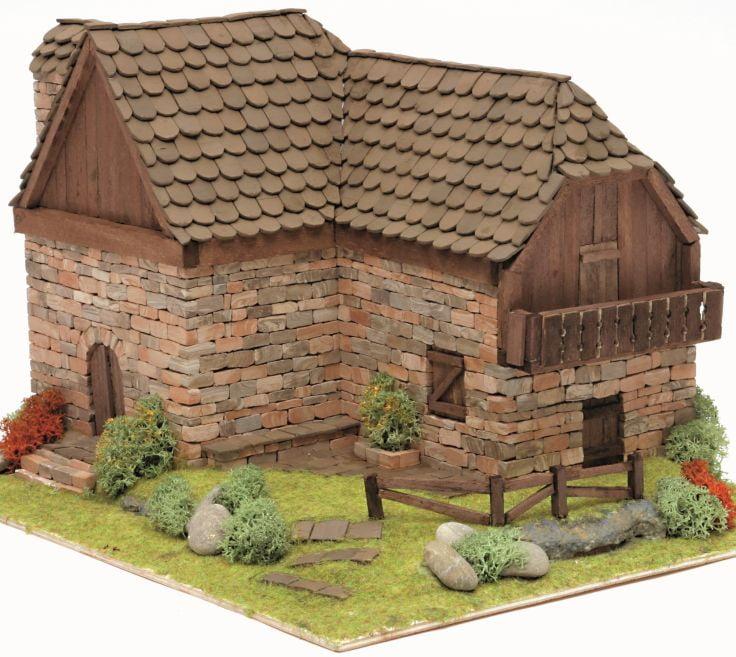 domus kits brick barn 40308 hobbies