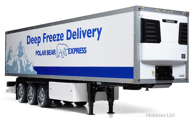Tamiya 3-Axle Reefer Semi-Trailer Model Kit