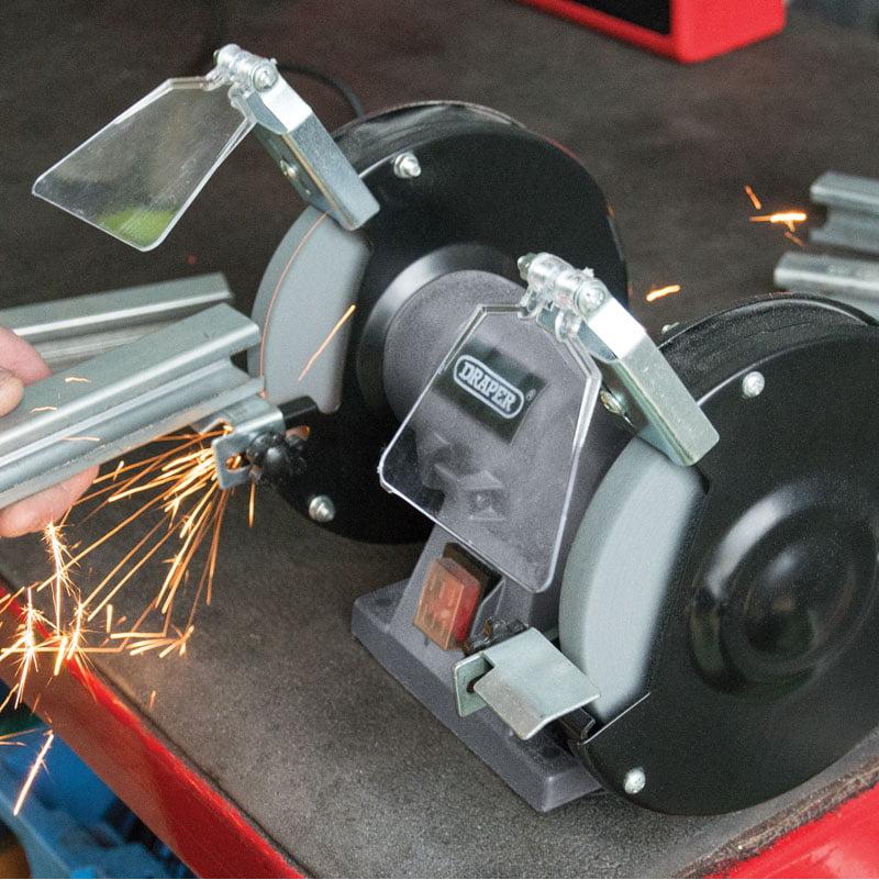 Draper Bench Grinder 150mm 150w 230v 83420 Hobbies