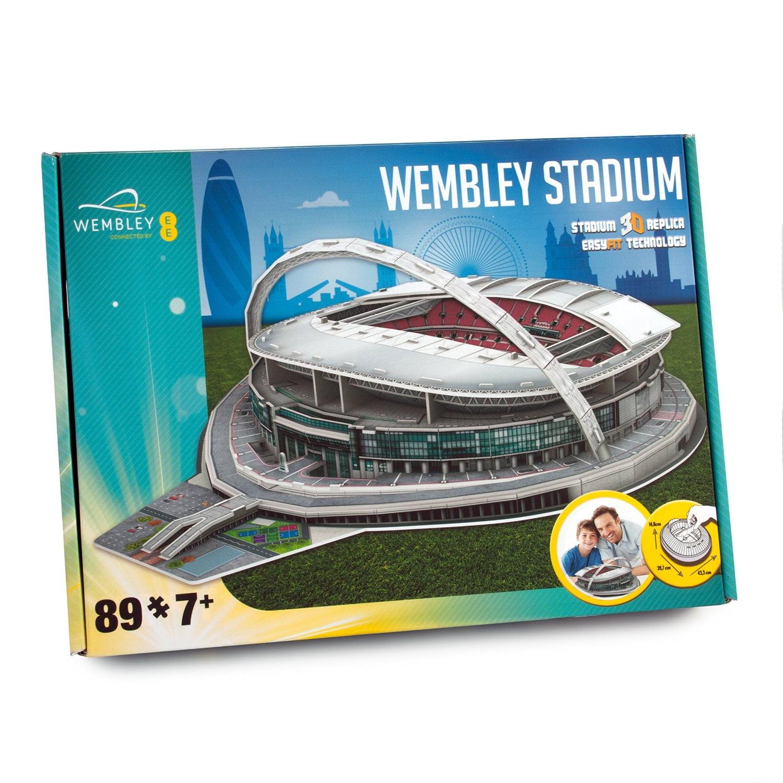 3d replica wembley stadium england football club easyfit for Replica mobel england