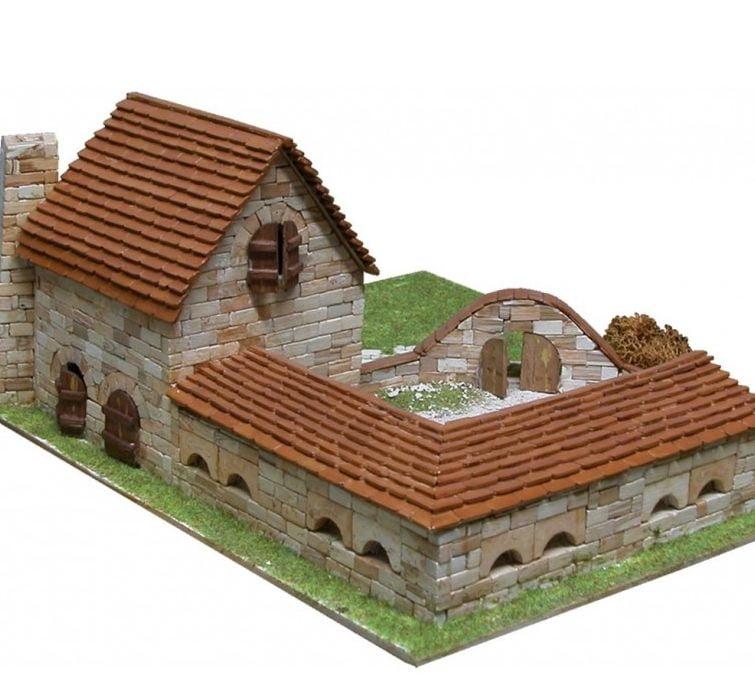 Model house kits bricks