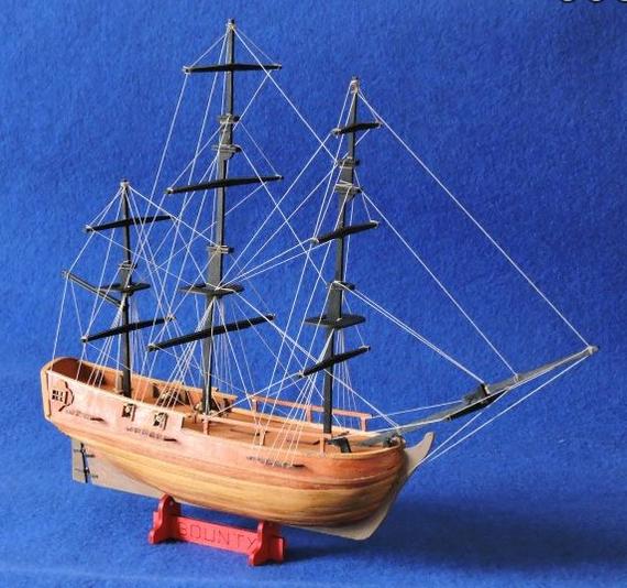 Mantua Models Hms Bounty Le Piccole 1 120 Scale Model Ship