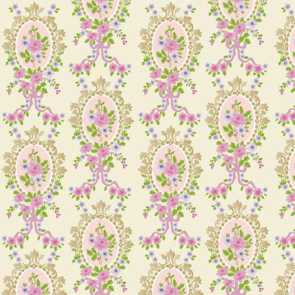Download Victorian Dolls House Wallpaper Gallery: Cream Victorian Cameo Wallpaper 430 X 600mm For Dolls
