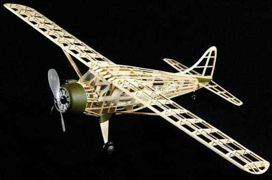 Guillows Beaver Dhc 2 Balsa Airplane Flying Model Kit