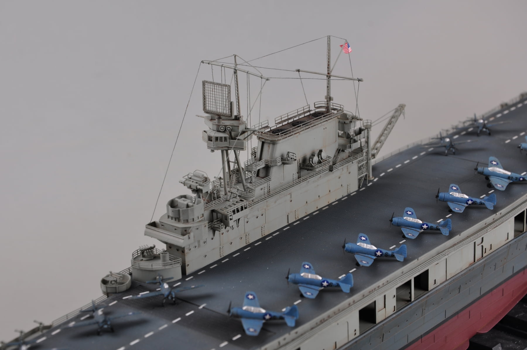 merit models uss yorktown cv-5 kit