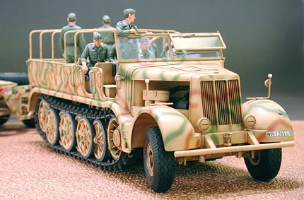 Tamiya German Sd Ah 116 Famo Tank Transporter 1 35 Scale