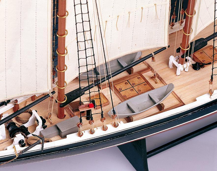 Amati Bluenose 1921 Fishing Schooner 1:100 Scale Model Boat Kit 1447   Hobbies