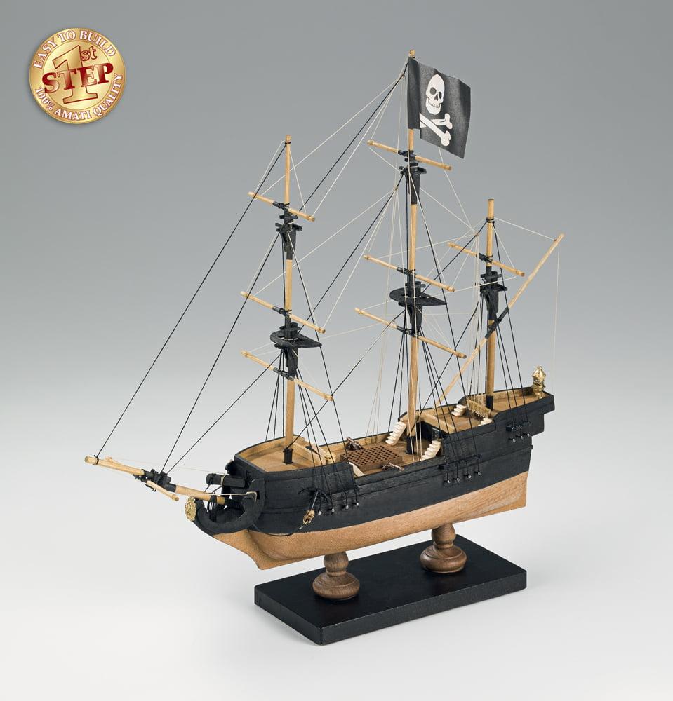 Amati Adventure Pirate Ship 1 135 Scale 1st Step Model Kit