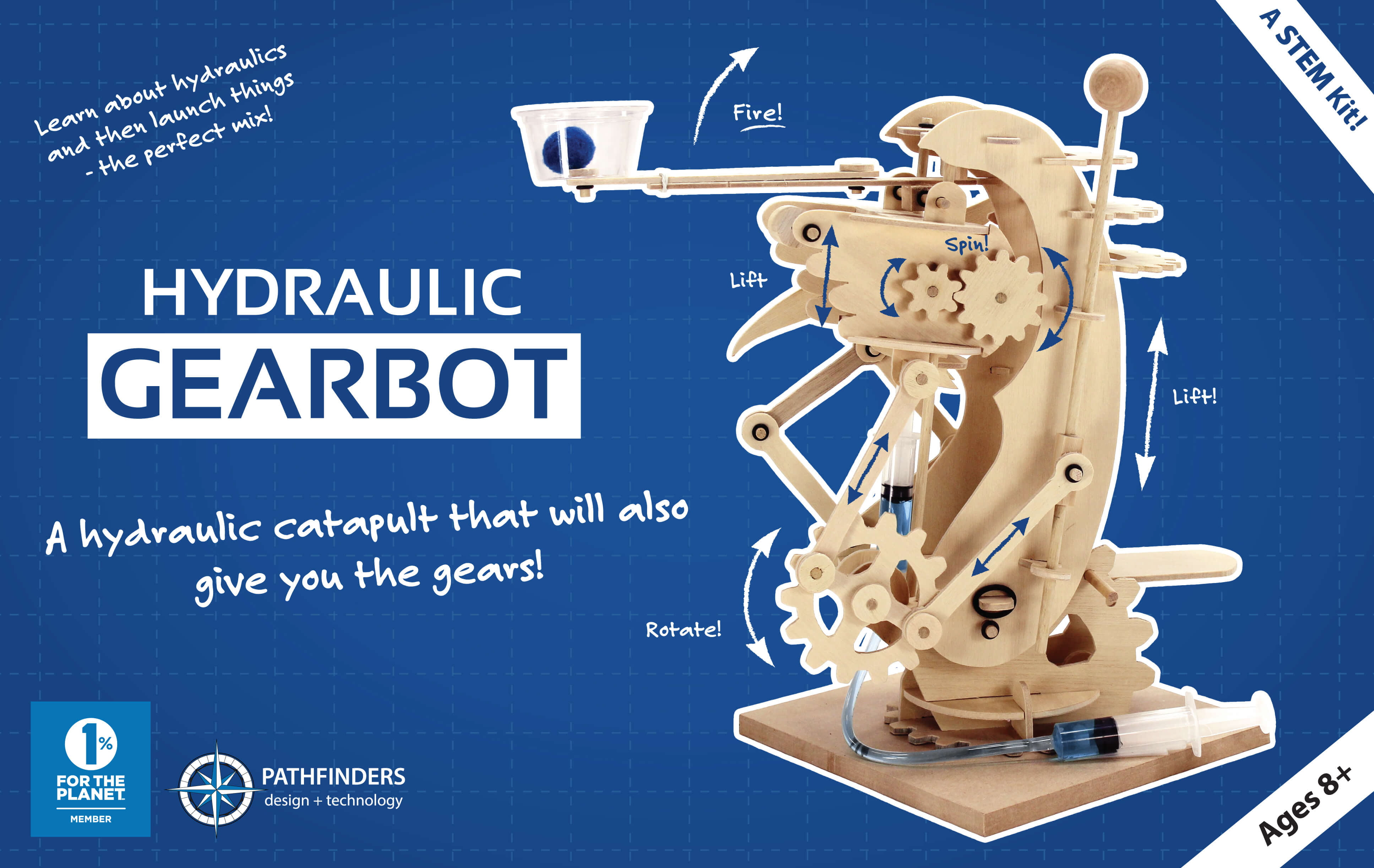 Pathfinders Hydraulic Gearbot Catapult Wooden Kit 27670 Make Your Own Beautiful  HD Wallpapers, Images Over 1000+ [ralydesign.ml]