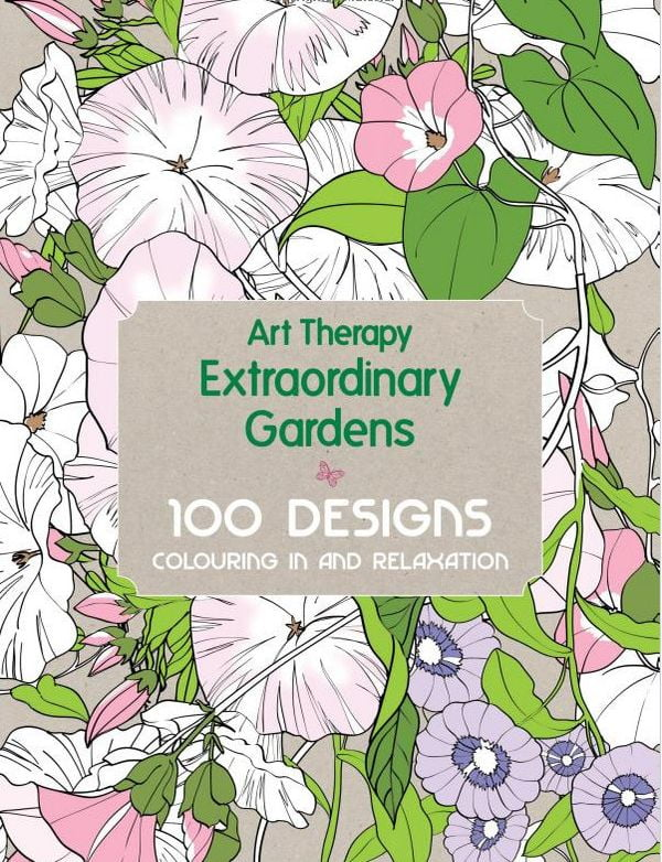 Extraordinary Gardens Adult Colouring Book