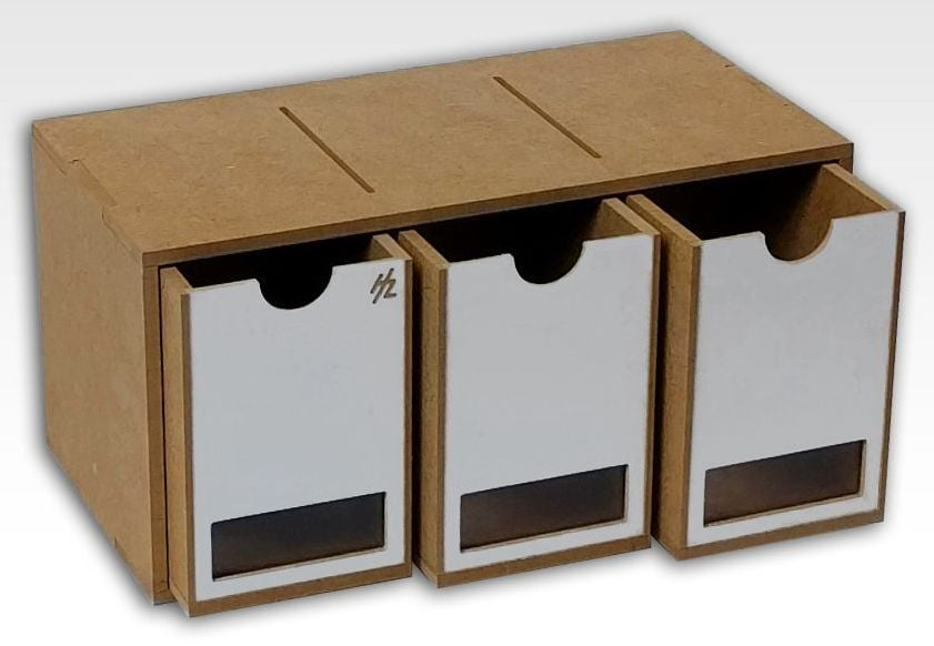 hobbyzone 3 drawers module