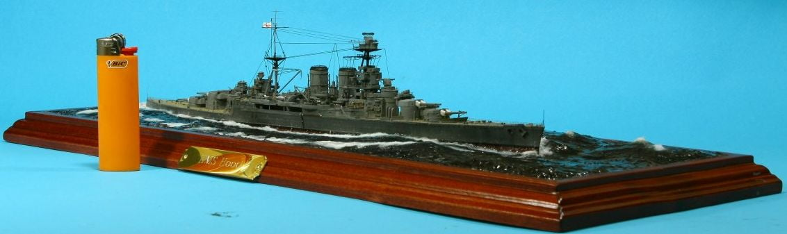 hms hood and lighter