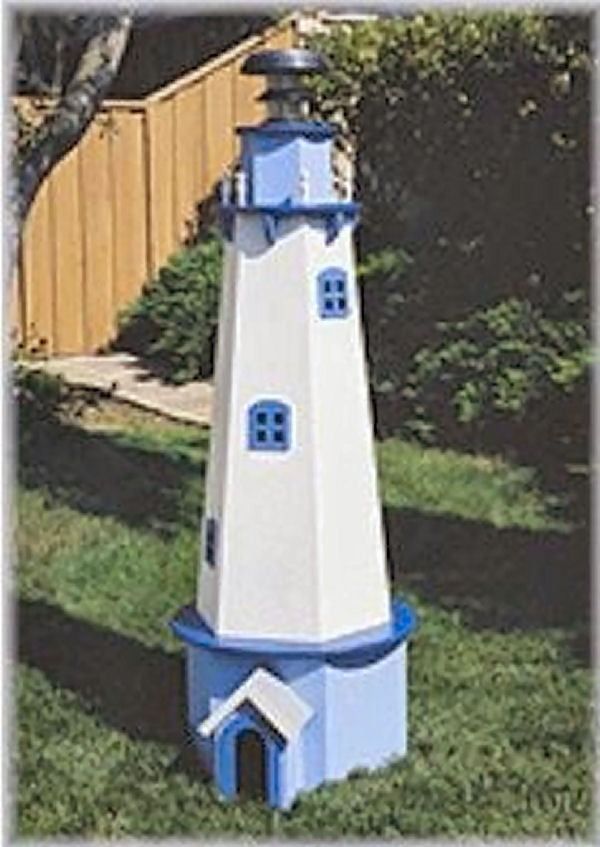 Lighthouse Plan By U Build For The Garden Hobbies