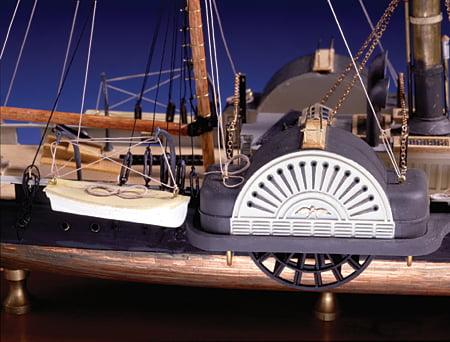 Model Shipways Harriet Lane Gunboat 1 128 Scale Model Ship