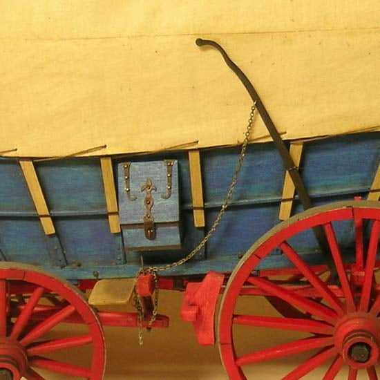 Model Trailways Conestoga Wagon 1:12 Scale Model Kit MS6002 | Hobbies