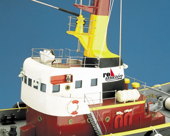 Neptun Tug Boat including Fittings Kit 1:50 Scale Krick Robbe RC Model Kit | Hobbies