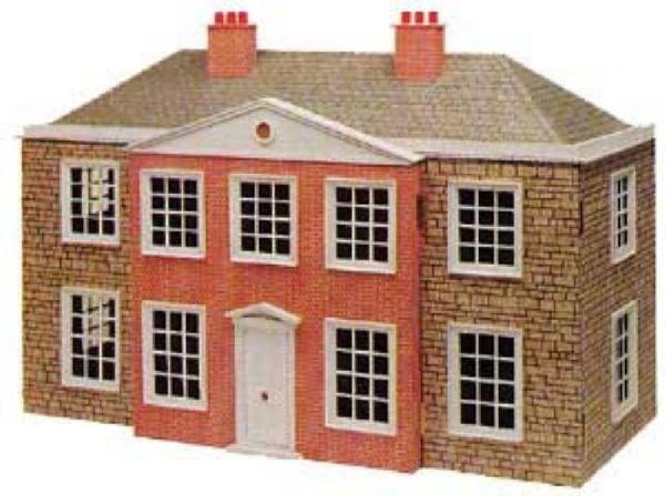 The regency dolls house plan in 12th scale hobbies for Regency house plans