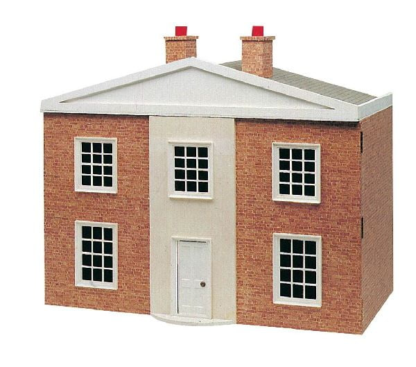 12th scale georgian dolls house plan and fittings hobbies for Paper house planner