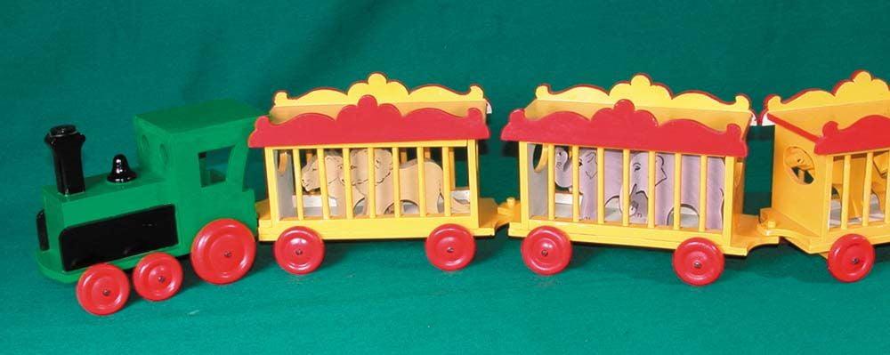 Toy Circus Train Wheeled Toy Plan | Hobbies