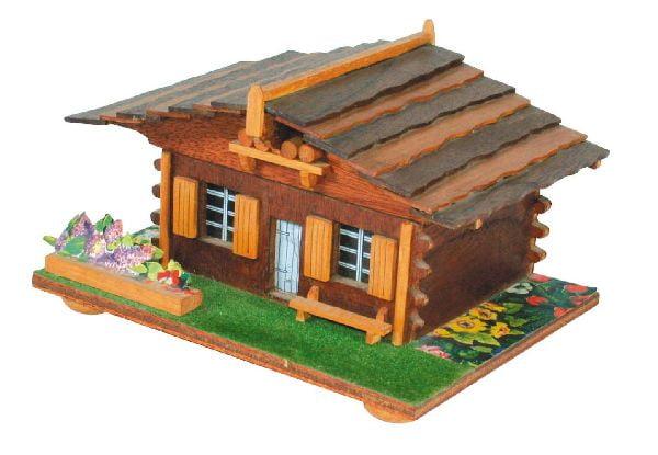 Swiss chalet musical novelty plan hobbies for Swiss chalet house designs
