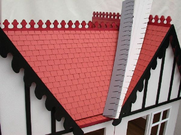 12th Scale Dolls House Roof Tile Strips Hobbies