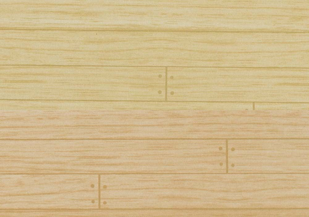 1 12th Scale Dolls House Wood Floor Wallpaper