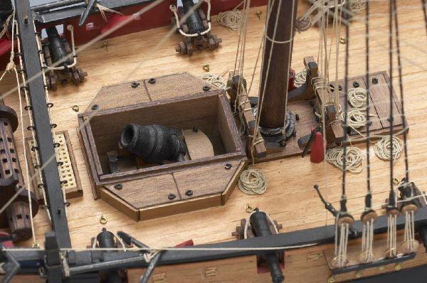 Victory Models HM Bomb Vessel Granado Wooden Model Boat Kit 1302 | Amati | Hobbies