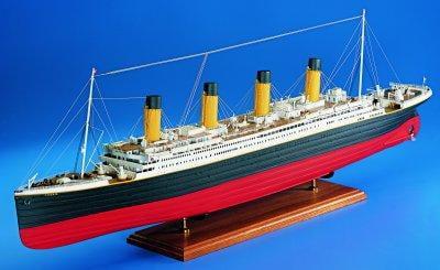 Amati Rms Titanic 1912 Wooden Model Ship Kit 1606 Hobbies