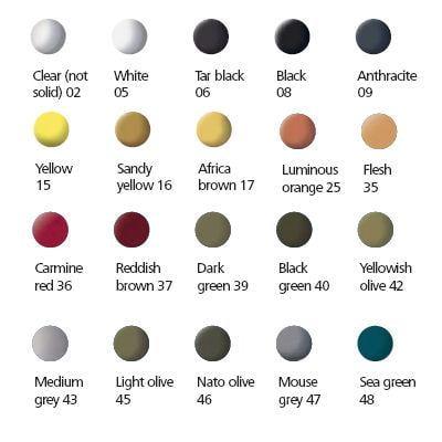 matt or silk paint