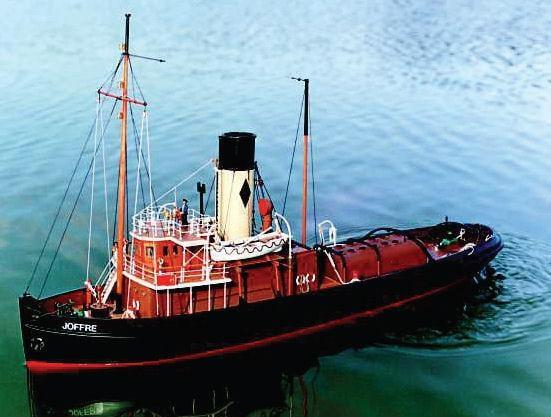 Caldercraft Joffre Tyne Tug R/C Model Boat Kit | Hobbies