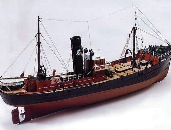 Milford Star Model Trawler Boat Kit 7019 Calder Craft