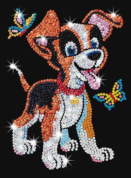 Sequin Art Juniorpuppy 0907 Ksg Hobbies
